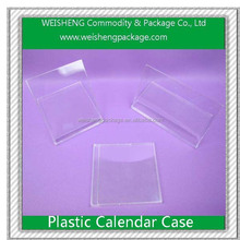 Fashion Trend Color Beautiful Plastic cases For calendar