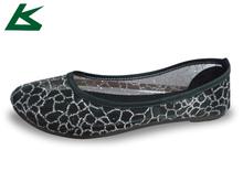Transpirable zapatos planos, de plástico plana zapatos, de plástico zapatillas zapatos