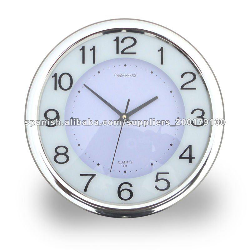 12 reloj de pared decorativos relojes pared - Relojes de diseno de pared ...