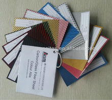 Colourful,Large Size Carbon Fiber Sheet