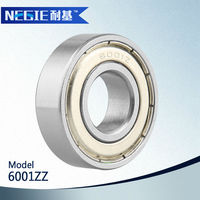 2015 top selling 6001 zz rs for ball bearing casters