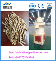 High Ratings Automatic Lubrication hard wood pellet mill line working food for animal straw