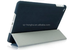 Hot selling soft deerskin leather case for iPad mini with wireless bluetooth HH-IPM04(21)