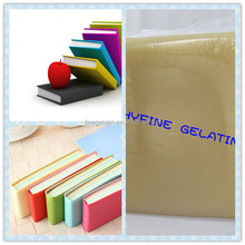 jelly glue/quality hard cover book binding glue