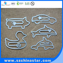 New style metal etch bookmark for school