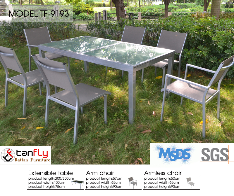 High End Outdoor Dining Set Tempered Glass Top Folding  : high end outdoor dining set tempered glass from alibaba.com size 800 x 672 jpeg 605kB
