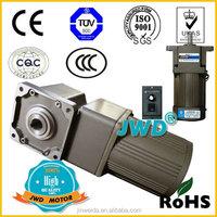 JWD Spiral Bevel angle AC motor(hollow shaft 17mm)