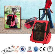 [Grace Pet] backpack dog carrier with wheels