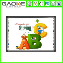 Gaoke finger writing infrared electronic interactive whiteboard for smart school
