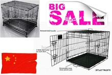 Stainless steel portable dog cage/welded wire dog cage for sale