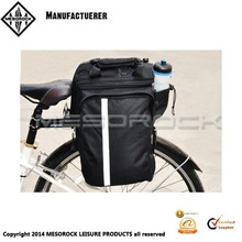 Bike Rear Tank Tour Luggage Saddle Waterproof Bags Black New