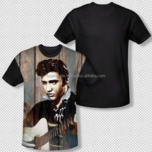 2014 picture print sublimation t-shirt slim fitting