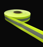 Flame Retardant with breathable punching Reflective Tape