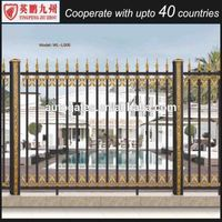 Hot sale eco friendly high quality aluminium fence gate used residential composite panel