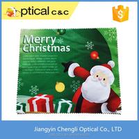 Printed custom print microfiber lens cleaning cloth