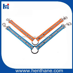 Can Handle Two Dogs in one Lead Two Hooks Dog Leash with Reflective Strap
