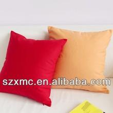 Wholesale Bright Color Plain Canvas/Cotton Throw Pillow/Cushion Cover