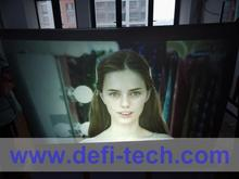 3D Holographic screen film hologram projector rear projection film transparent/grey/dark grey/ white colors optional