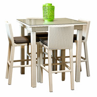 2015 Sigma Best selling Patio Bar Furniture led liquid wicker outdoor commercial high top bar tables