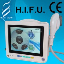 wrinkle removal and skin lifting and tighenting beauty equipment ultrasound machine hifu
