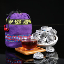 2015 Hot Selling Organic Yunnan Puer Mini Tea For Weight Reduce With Gift Bag Pu-erh