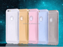 Low price fashion design shinning soft silicone tpu case cover for iphone 6