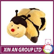 High quality furry animal toys bee