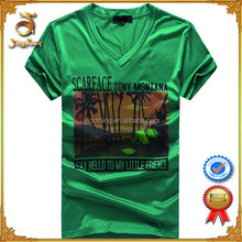 Full color O-neck Printed Men's T-shirt For Wholesale