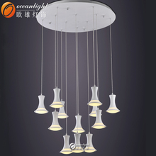 modern crystal celling light,commercial lighting fixtures modern OXD9025L-12