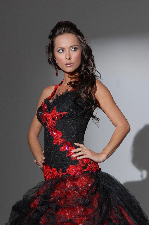 Robe de mariee rouge et noir les tendances de la mode fran aise de la saison 2018 - Robe de mariee rouge et noir ...