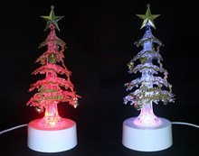 usb 7 color Christmas tree with belt and bell