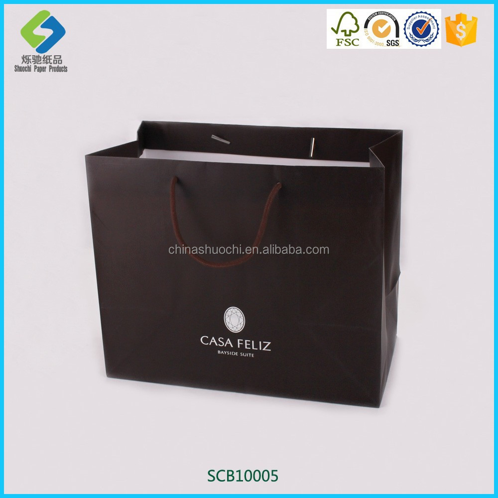 Custom Paper Bags - Promotional Eco Shoppers | National Pen