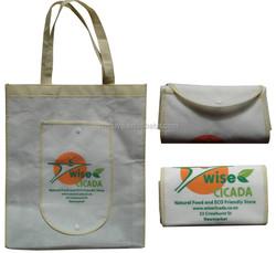 China wholesale non woven foldable bag,cheap Promotional foldable shopping bag,custom folding shopping bags