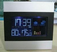Hot selling solar powered digital clock