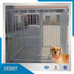 Small MOQ Hot Sale Galvanized Chain Link Dog Kennels
