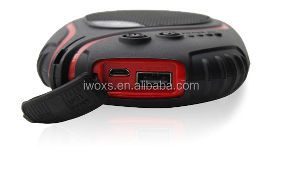 power supply for smart phone, waterproof power bank, power bank 6600mAh