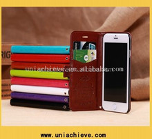 Genuine leather case for Iphone 6 Leather wallet Wholesale