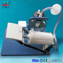 Foot operated manual suction pump medical in power shortage areas