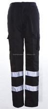 High quality fashion fiber luminous work trousers pants