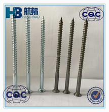 Factory direct sales ,carbon steel c1008 wood screws,plain or zinc plated ,high quality best price