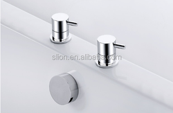 2015 Deck mounted 2 hole bath filler
