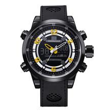 MIDDLELAND 2015 high quality Men's Wristwatches design japan movement alloy case PU band fashion men's watch M-8017