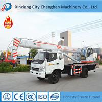 Professional Crane 10 ton Mobile Truck Cranes for Sale