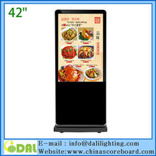32 42 46 47 55 65 inch standing advertisement marketing