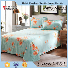 China manufacturer New style light blue Bedding Sets egyptian cotton bedding