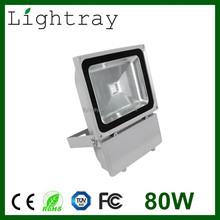80watt LED Flood Light Waterproof Epistar Bridgelux Chip Meanwell Driver