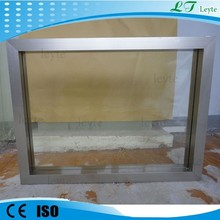 x-ray radiation protection lead glass ct scan