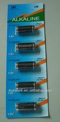 LR1 N size AM5 1.5v alkaline batteries LR1 dry cells