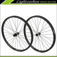 LIGHTCARBON 2015 Carbon Fiber Bike Wheels 350S-29 off Set Design for Sale, Carbon Mountain Bike Wheels 29er With DT350S Hubs