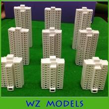 Com vidro dentro construir / projeto original ABS material plástico modelo para a construção de layout